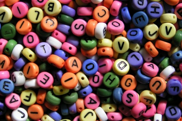 Alphabet Learning Beads