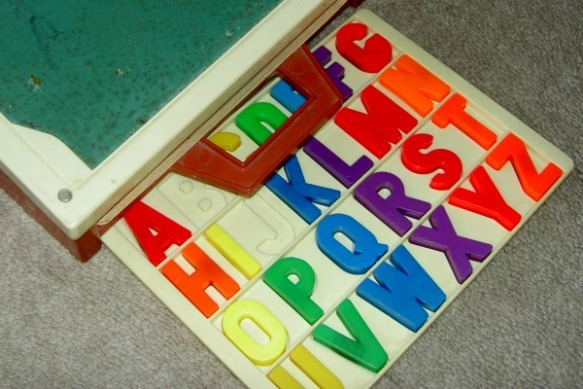 Alphabet Learning Magnets