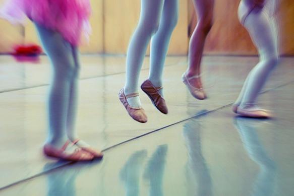 Jump dance class